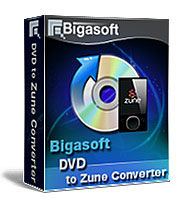 15% discount Bigasoft VOB to Zune Converter for Windows