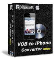 Receive 5% Bigasoft VOB to iPhone Converter for Mac Voucher