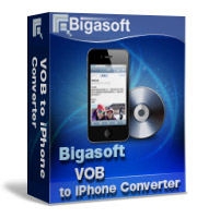 30% Savings on Bigasoft VOB to iPhone Converter Voucher