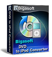 20% Voucher Bigasoft VOB to iPod Converter for Windows