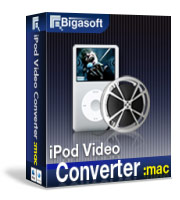 Bigasoft iPod Video Converter for Mac 20% Voucher