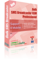 Bulk SMS Broadcaster GSM Professional Voucher Code Discount