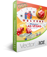 Casino Gambling Vector Pack - VectorVice Sale Voucher