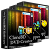 CloneBD DVD Suite - 1 year License Voucher Sale