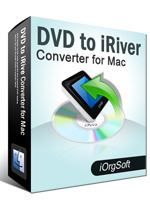 40% Voucher Code on DVD to iRiver Converter for Mac