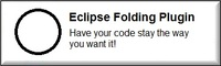 Eclipse Folding Plugin Personal Voucher Code Discount - Special