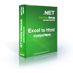 Excel To Html .NET - Developer License PRO Discount Voucher - SPECIAL