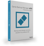 Genie Backup Manager Professional 9 - 3 Pack Voucher Code Exclusive - SPECIAL