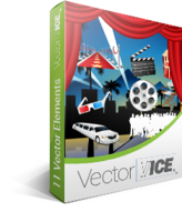 15 Percent Hollywood Vector Pack - VectorVice Voucher Sale
