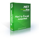 Html To Excel .NET - Site License Voucher Code Discount - Special