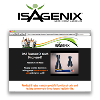 Isagenix Product B Page ~ Yearly Subscription Discount Voucher