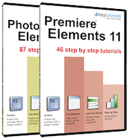 KeyTutorials Photoshop Elements and Premiere Elements 11 Sale Voucher - SALE