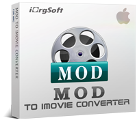Enjoy 40% MOD to iMovie Converter Discount