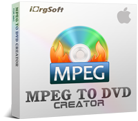 Mac MPEG to DVD Creator 40% Discount