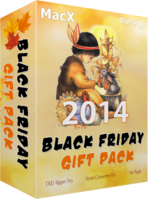 Digiarty Software, Inc., MacX Black Friday Gift Pack Discount Voucher