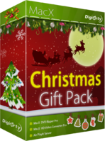 Digiarty Software, Inc., MacX Christmas Gift Pack Sale Voucher