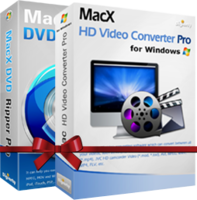 MacX DVD Video Converter Pro Pack for Windows Voucher - Exclusive