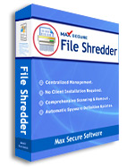 Receive 50% Max File Shredder 3 users Voucher