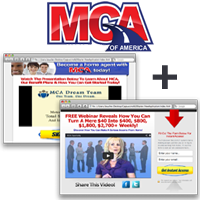 Motor Club of America MCA Opportunity Site + Capture Page (Shorter) ~ Monthly Subscription Voucher