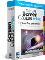 Movavi Screen Capture for Mac Personal Voucher Sale