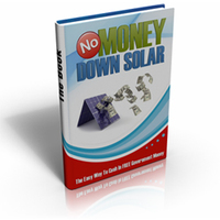 No Money Down Solar Voucher - EXCLUSIVE