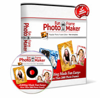 Special 15% Photo Fun Frame Maker 2014 with Triple Bonus Package Voucher