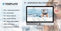 Pi Multipurpose Responsive WordPress Theme Voucher Code Discount