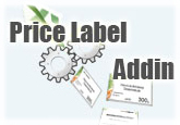 Price Label Addin for Microsoft Office Excel (1-Year Single License) Sale Voucher - SPECIAL