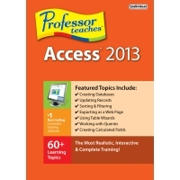 Special 15% Professor Teaches Access 2013 Voucher