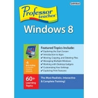 Professor Teaches Windows 8 Discount Voucher - Instant 15% Off