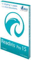 IRIS Link - Affiliates, Readiris Corporate 15 Windows (OCR Software) Voucher Deal