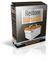 15% Off Restore Batteries Voucher Discount