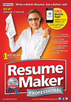 ResumeMaker Professional Deluxe Voucher Sale