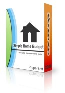 Simple Home Budget Voucher Sale