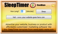 SleepTimer Customization Service Voucher Deal
