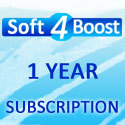 Soft4Boost 1 Year Subscription Sale Voucher - 15% Off