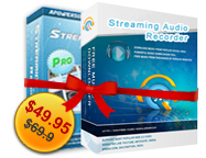 Streaming Video Recorder + Streaming Audio Recorder Personal License Sale Voucher