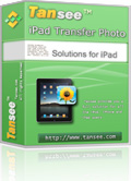 25% Tansee iPad Transfer Photo Discount