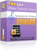 Enjoy 25% Tansee iPhone/iPad/iPod Contact Transfer Voucher Code