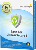 Test - East-Tec DisposeSecure 5 Voucher - SPECIAL