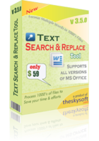 Text Search and Replace Tool Voucher - SPECIAL