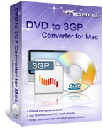 Tipard DVD to 3GP Converter for Mac Sale Voucher