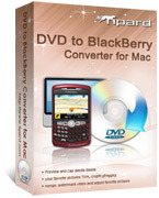 15 Percent Tipard DVD to BlackBerry Converter for Mac Voucher Deal