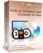 Tipard DVD to Creative Zen Converter for Mac Voucher Sale