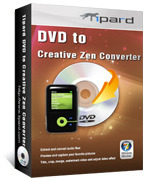 Tipard DVD to Creative Zen Converter Voucher Code - 15% Off