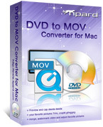 Tipard DVD to MOV Converter for Mac Voucher Discount - 15% Off
