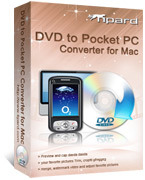 Tipard DVD to Pocket PC Converter for Mac Voucher Sale