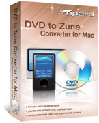 Special 15% Tipard DVD to Zune Converter for Mac Voucher Deal