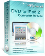 Tipard DVD to iPad 2 Converter for Mac Voucher Deal