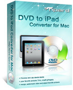 Special 15% Tipard DVD to iPad Converter for Mac Discount Voucher
